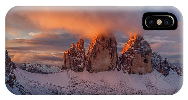 Panorama iPhone Case - The Story Of The One Sunrise by Valeriy Shcherbina