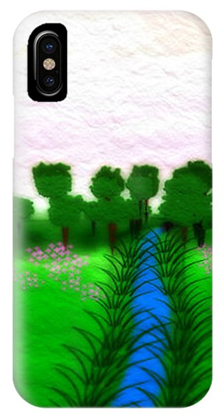 The Stream - A Digital Painting IPhone Case