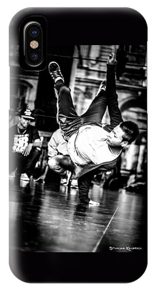 IPhone Case featuring the photograph The Street Dancer by Stwayne Keubrick