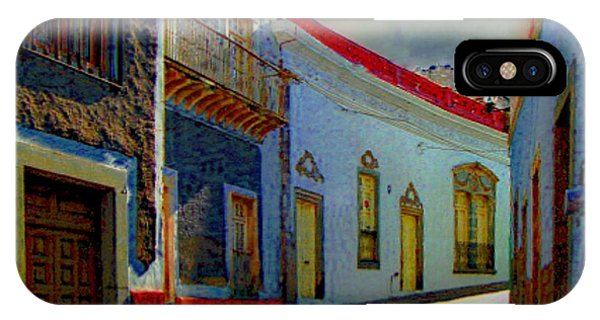The Street To Diego Rivera's Parents House IPhone Case