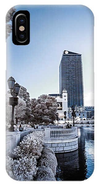 The Strip In Infrared IPhone Case