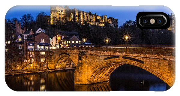 The Stunning City Of Durham In Northern England IPhone Case