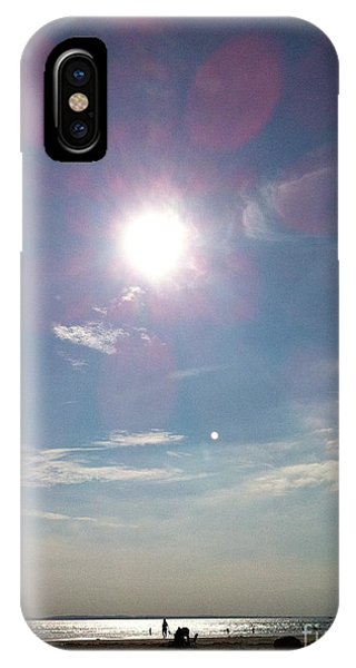 The Sun And The Moon - Witterings Sussex England IPhone Case