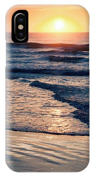Sun Rising Over The Beach IPhone Case