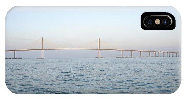 The Sunshine Skyway Bridge IPhone Case