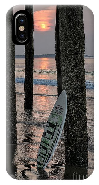 Orchard Beach iPhone Case - The Surf Awaits by Scott Thorp