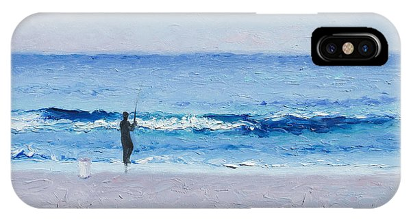 The Surf Fisherman IPhone Case