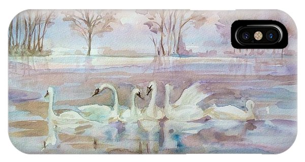 The Swan Lake IPhone Case