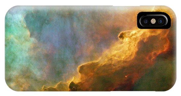 The Swan Nebula IPhone Case