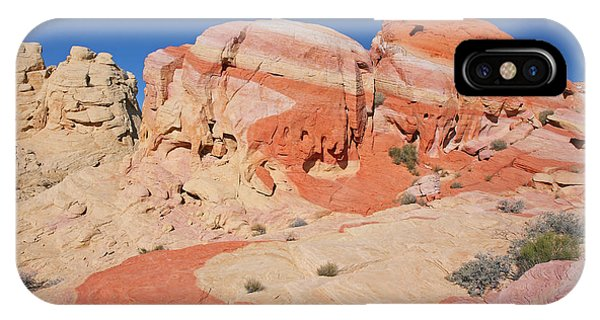 The Swoosh At The Valley Of Fire IPhone Case