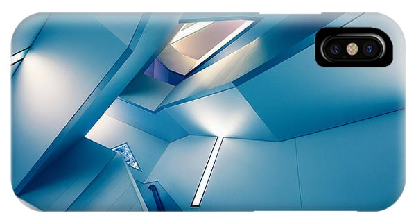 Futuristic iPhone Case - The Symphony Of The Lines by Roland Shainidze