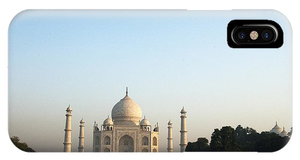 The Taj. Early Morning IPhone Case