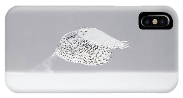 Snowy iPhone Case - The Take-off by Marco Pozzi