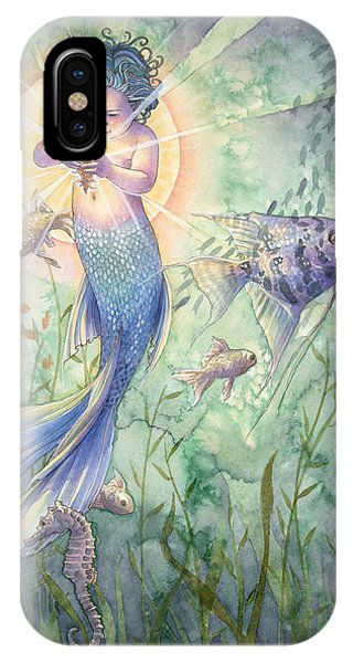 Seahorse iPhone Case - The Talisman by Sara Burrier