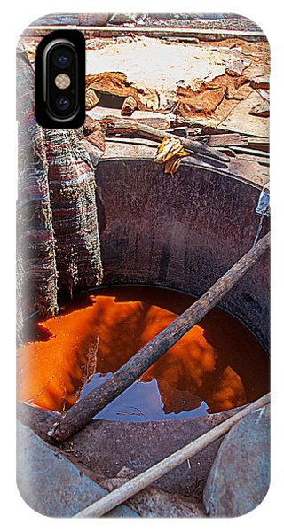 The Tanneries In Marakech IPhone Case