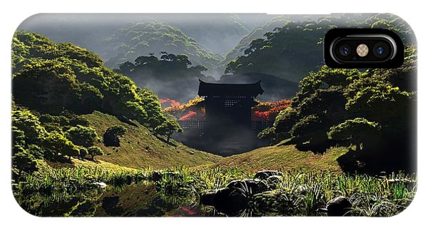 The Temple Of Perpetual Autumn IPhone Case