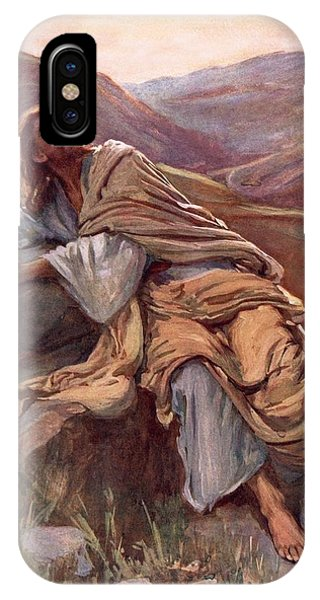 Messiah iPhone Case - The Temptation Of Christ by Harold Copping
