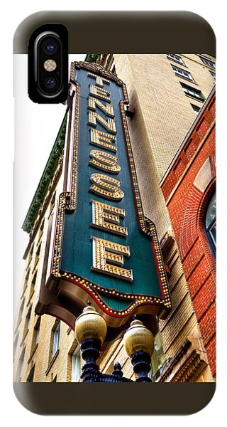 The Tennessee Theatre - Knoxville Tennessee IPhone Case