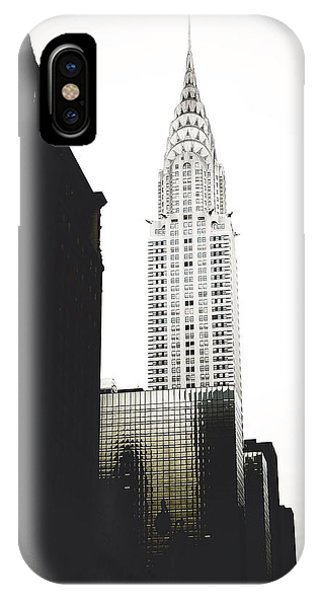 New York City iPhone Case - The Terraced Crown Of Manhattan by Natasha Marco