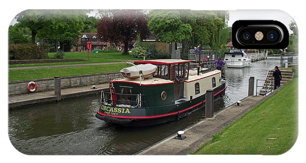 The Thames At Penton Hook Lock IPhone Case