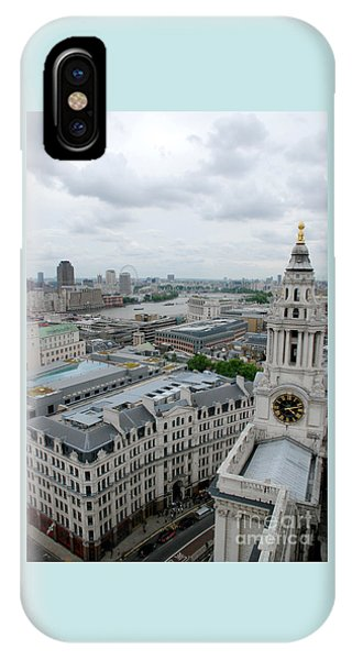 The Thames From St Paul's IPhone Case