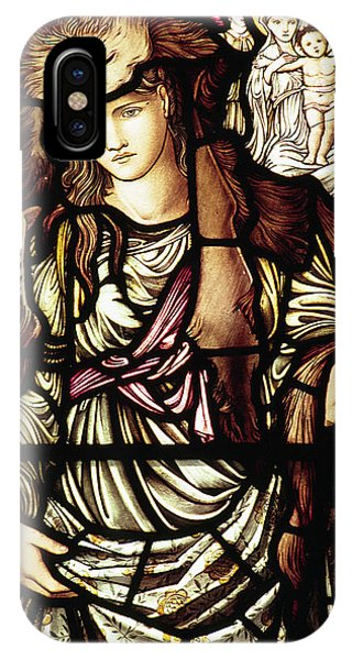 Pre-modern iPhone Case - The Tibertine Sibyl In Stained Glass by Philip Ralley