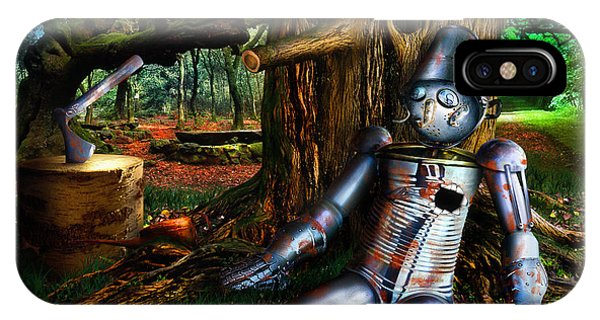 The Tin Woodman IPhone Case