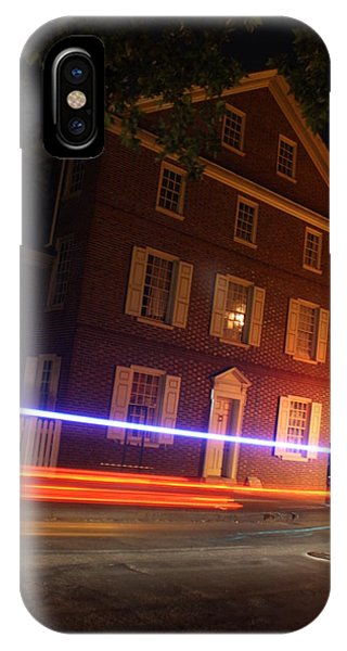 The Todd House Philadelphia IPhone Case