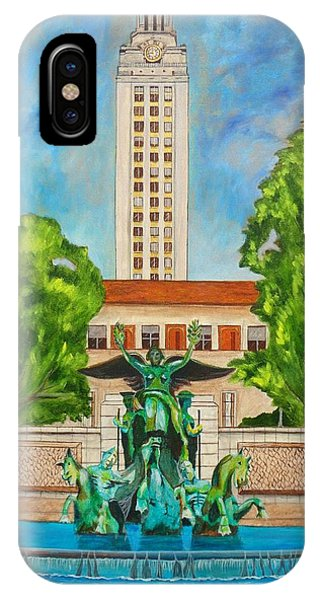 The Tower - Austin Texas IPhone Case
