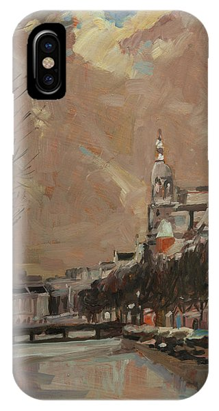 Briex iPhone Case - The Tower Of Metz And Co Amsterdam by Nop Briex
