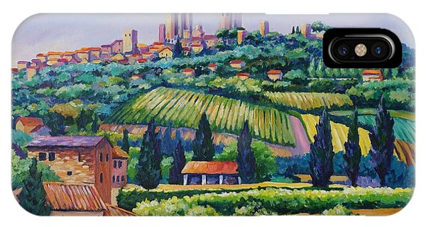 The Towers Of San Gimignano IPhone Case