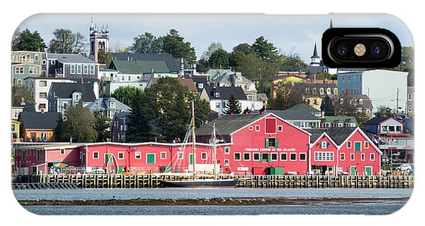 The Town Of Lunenburg IPhone Case
