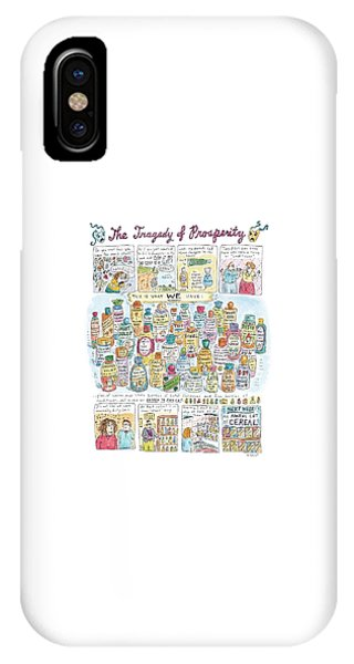 'the Tragedy Of Prosperity' IPhone Case