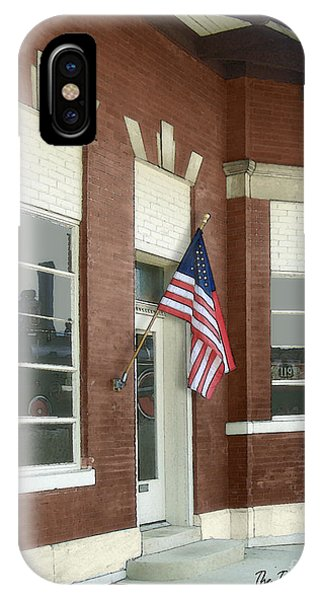 The Train Depot IPhone Case