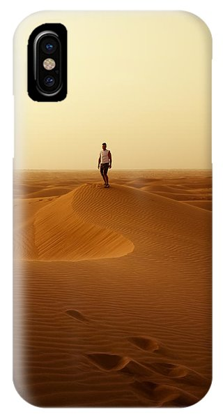 The Traveller IPhone Case