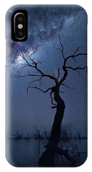 Australia iPhone Case - The Tree by Jingshu Zhu
