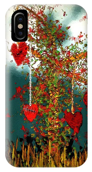 The Tree Of Hearts IPhone Case