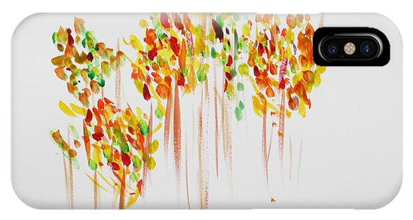 The Trees Are Dancing Phone Case by Tom Atkins