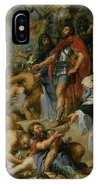 The Triumph Of Judas Maccabeus IPhone Case