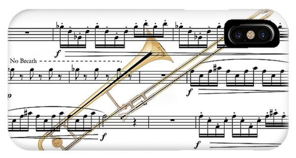 The Trombone IPhone Case
