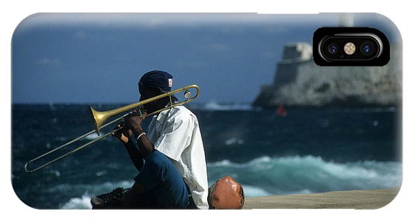 The Trombonist IPhone Case