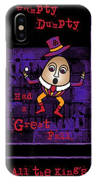 The Truth About Humpty Dumpty IPhone Case
