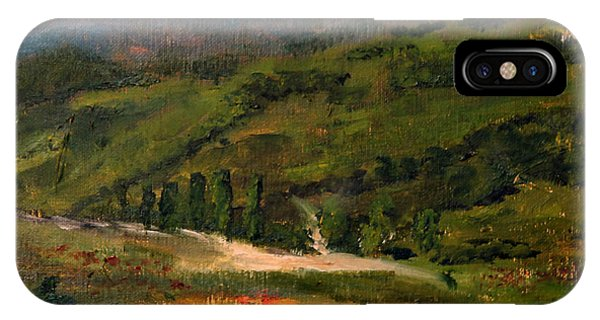 The Tuscan Hills IPhone Case