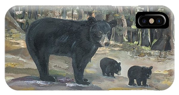 Cubs - Bears - Goldilocks And The Three Bears IPhone Case