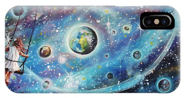 The Universe Is My Playground IPhone Case