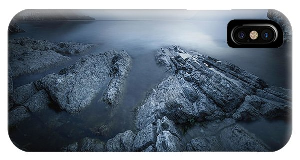 Fog iPhone Case - The Valley by Luca Rebustini