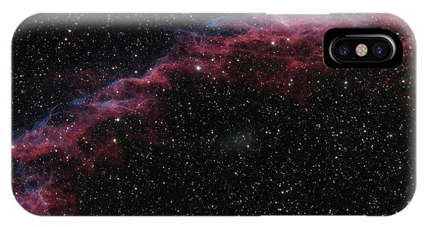 The Veil Nebula Phone Case by Brian Peterson