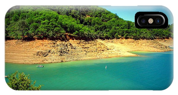Water Ski iPhone Case - The View At Shasta Lake by Joyce Dickens