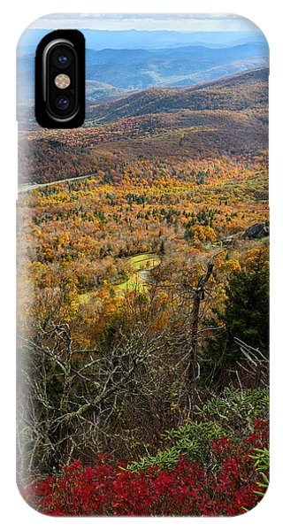 The View From Grandfather Mountain IPhone Case