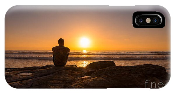 Michael iPhone Case - The View Wide Crop by Michael Ver Sprill